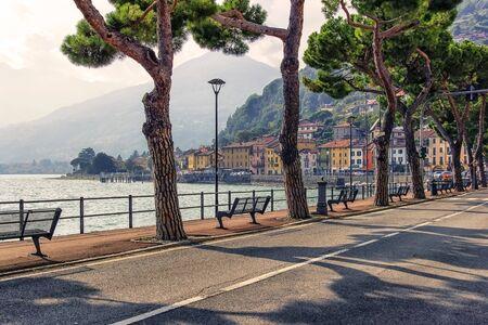 Domaso village on Lake Como, Italy