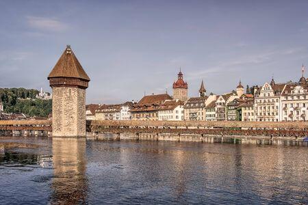 Lucerne city in the daytime, Switzerland