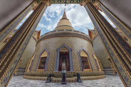Ratchabophit Wat Sathitmahasimaram temple in Bangkok, Thailand