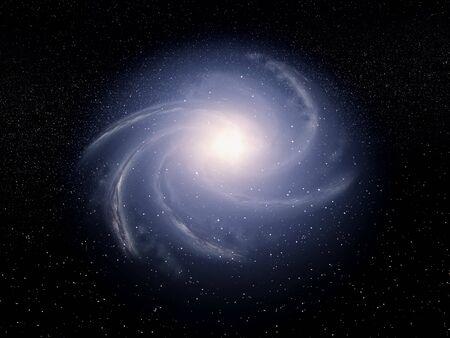 Artist view of a galaxy Reklamní fotografie