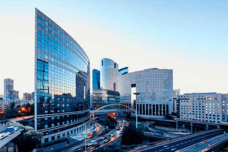 La Defense, the business district in Paris