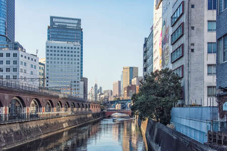 Tokyo city in the daytime, Japan