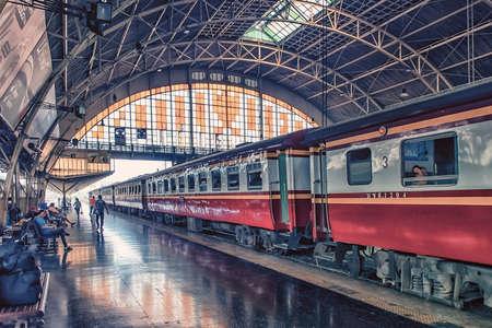 Hua Lamphong train station in Bangkok, Thailand