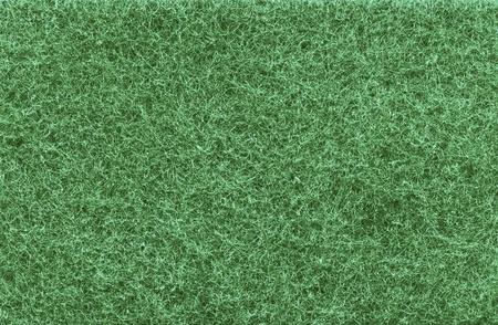 Green kitchen sponge background