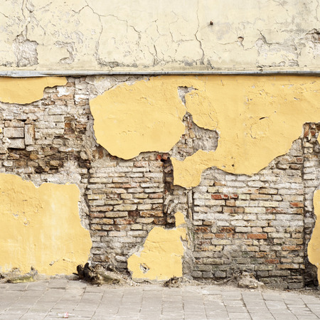 stuc r�sist� mur de briques de base