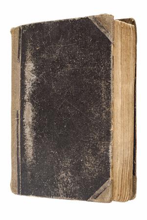 vintage book isol� sur blanc Banque d'images