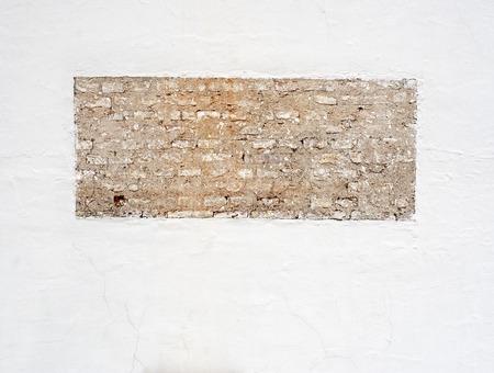 brique stuc mur texture fond Banque d'images