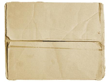 Ferm� traces de ruban adh�sif de la bo�te en carton