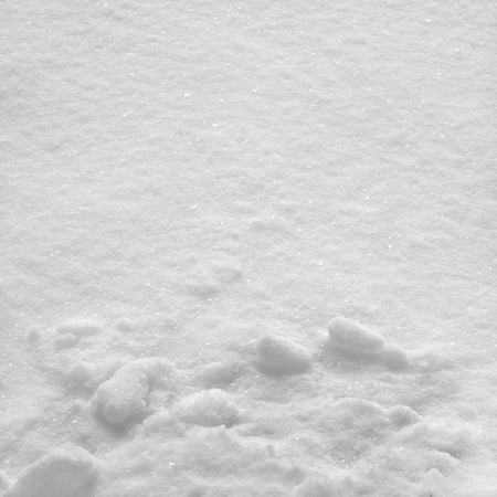 fluffy smooth snow texture background Stock Photo