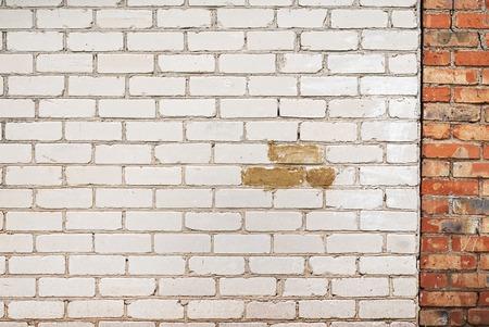 mur d'une maison de brique fond r�sist� Banque d'images