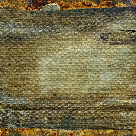 Abstract weathered grunge dirty cloth texture background Banco de Imagens