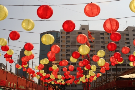 xing: Chinese lanterns in the sky