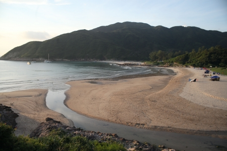 Overlooking Sai Wan, Sai Kung photo