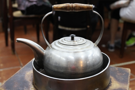 chinese tea pot: Tetera china Foto de archivo