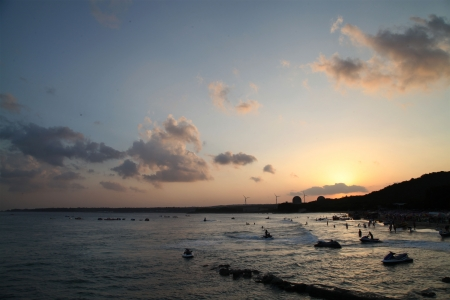 kenting: A beach in Kenting Nanwan Sunset, Henchun, Taiwan