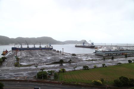 View of the Su-ao Port, Yilan, Taiwan