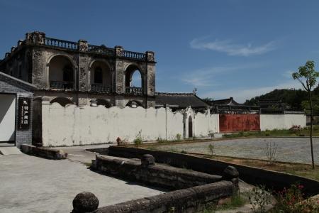 casa vecchia: The Old House di Baihou, Dabu County, Guangdong, Cina Editoriali