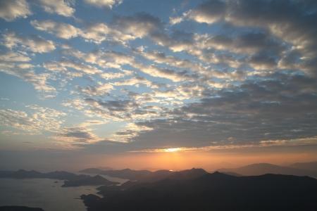 yan: Sunries Yan Chau Tong Marine Park View from Tiu Tang Lung, Tai Po, Hong Kong