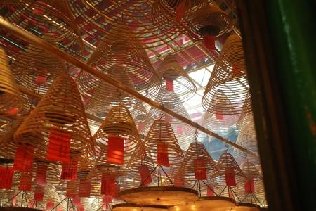 mimo: Man Mo Temple, Hollywood Road, Hong Kong