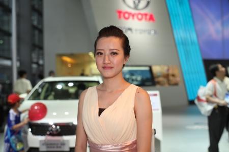 17th: 2013 17th Shenzhen-Hong Kong-Macao International Auto Show Girl