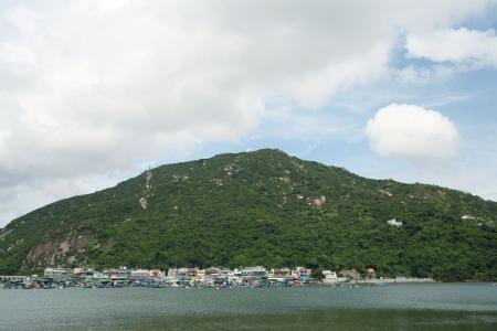 hassock: Po Toi O, Sai Kung, Hong Kong