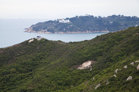 riverine: North Lookout Pavilion in Cheung Chau, Hong Kong