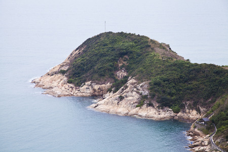 riverine: Pak Kok Tsui in Cheung Chau, Hong Kong