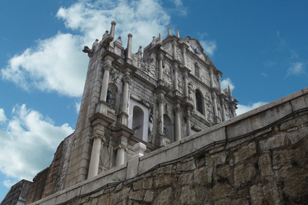 Ruins of St  Paul s, Macau photo