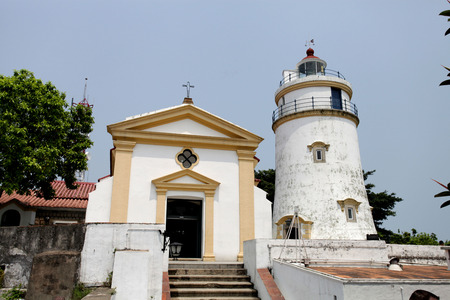 Church at Guia Hill, Macau  photo