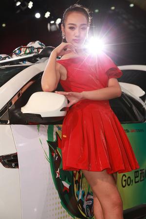 2014 18th Shenzhen-Hong Kong-Macao International Auto Show Girl