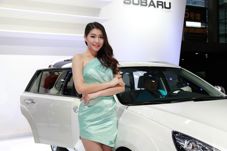 2014 18th Shenzhen-Hong Kong-Macao International Auto Show Girl