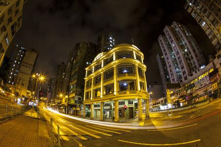 chun: Lui Seng Chun at rainy night, Hong Kong
