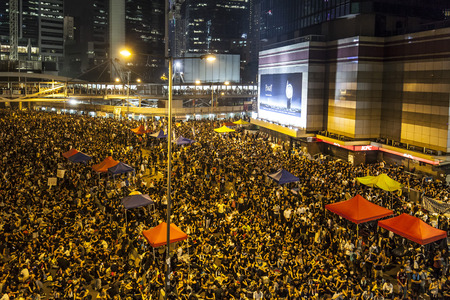 deliberations: Occupy Central with Love and Peace, Hong Kong Editorial