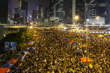 Occupy Central with Love and Peace, Hong Kong