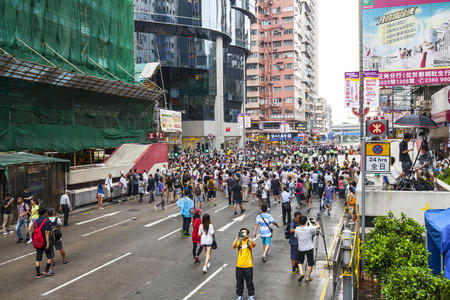 occupy movement: Occupy Central with Love and Peace, Hong Kong Editorial