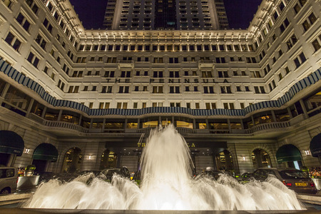 The Peninsula Hotels night View, Hong Kong