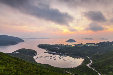 Po Toi O from higher perspective, Sai Kung photo