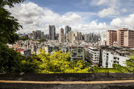 macau: Macau City skyline