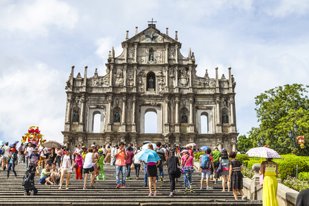 st paul s cathedral: Ruins of St Paul s, Macau