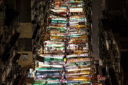 Temple Street, Night Market 版權商用圖片