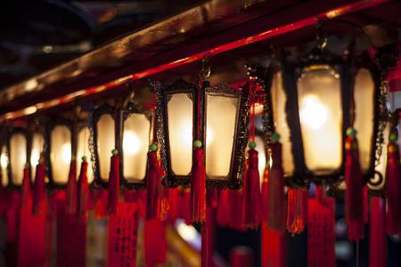 chinese lanterns: Chinese Lanterns, man mo temple