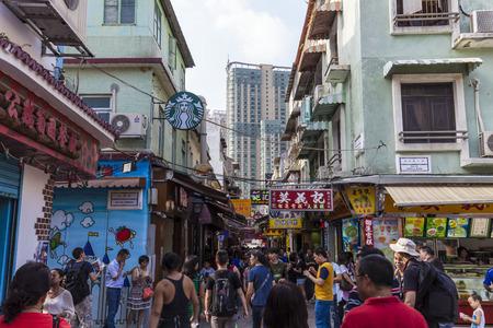 macau: Macau souvenirs Street