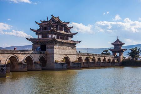 county: Chinese bridge Jianshui County