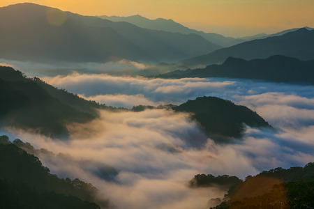 local landmark: Waves of Fog in Shiding District