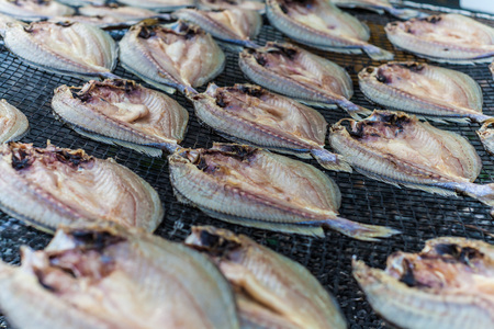 fishery products: Salted fish at Xiapu