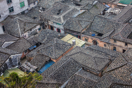 traditional chinese: Traditional Chinese  Roofs at Xiapu
