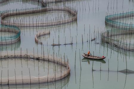 Fish farms at Xiapu