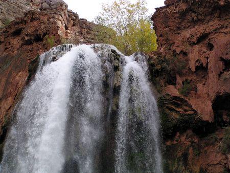 waterfall in the Grand Canyon at Havasu photo