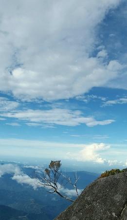 mt: Mt. Kinabalu scenery
