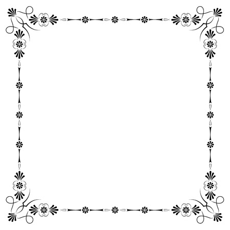 corners and borders page decorations, very easy to edit and to rearrange Stock Vector - 4295204